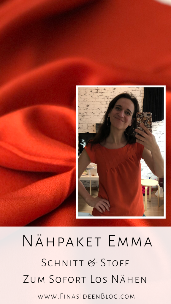 Nähpaket Emma Damen Shirt Finasideen
