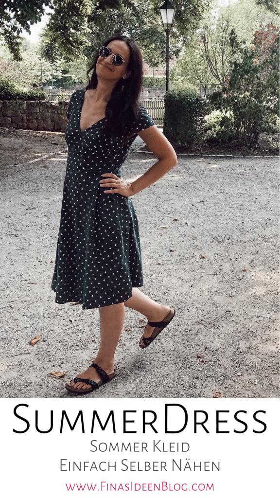 SummerDress-Schnittmuster-Damen-Kleid--einfach-nähen-FinasIdeen- 3
