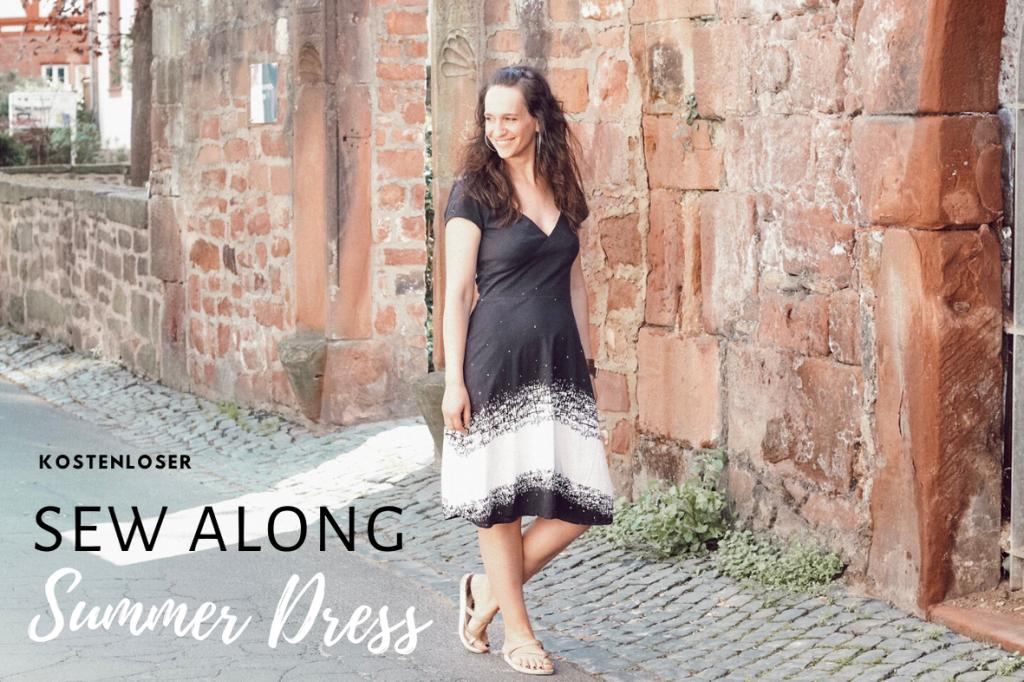 SummerDress Sew Along Sommer Kleid FinasIdeen
