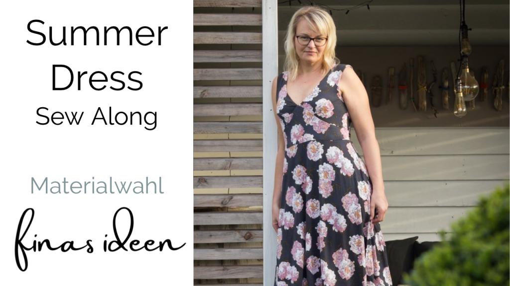 Sommer kleid nähen SummerDress