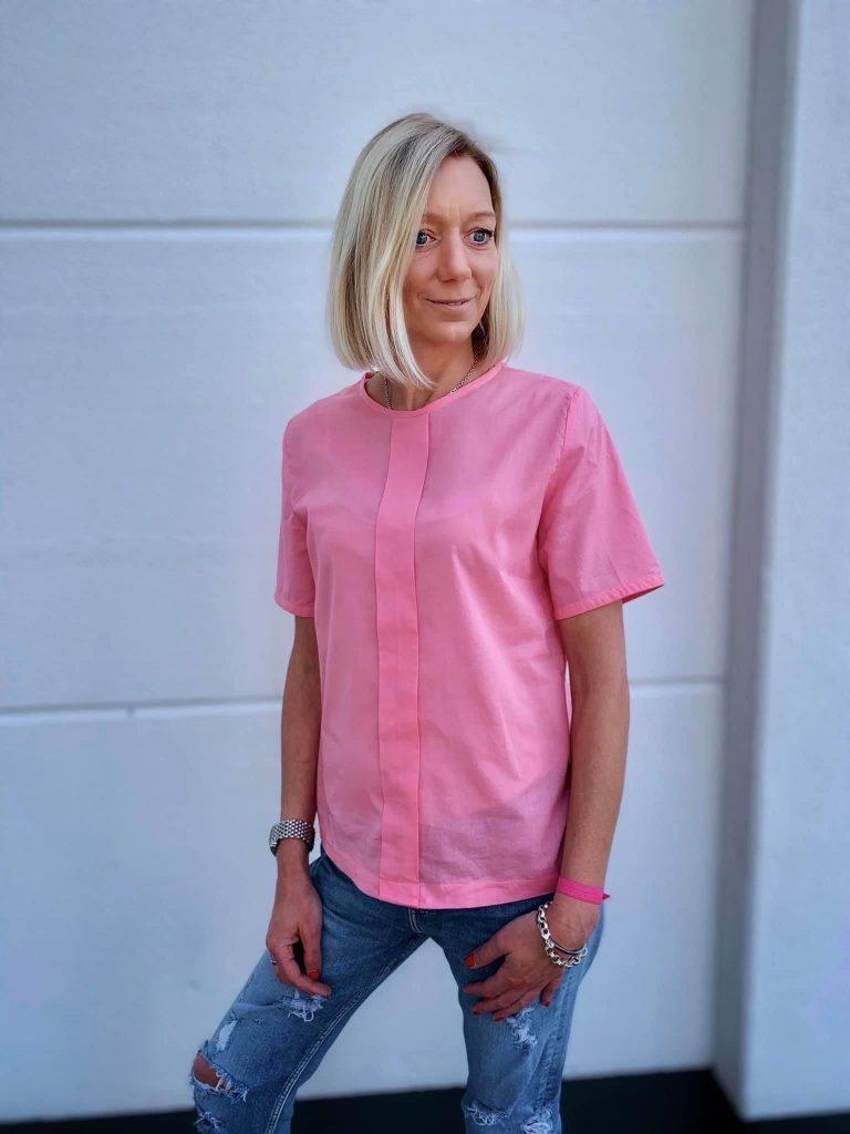 Schnittmuster Damen Bluse Shirt Paula FinasIdeen95