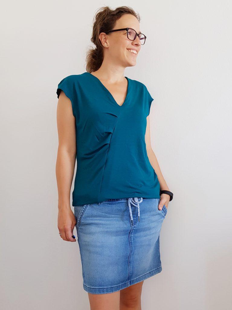 Schnittmuster Shirt Alea