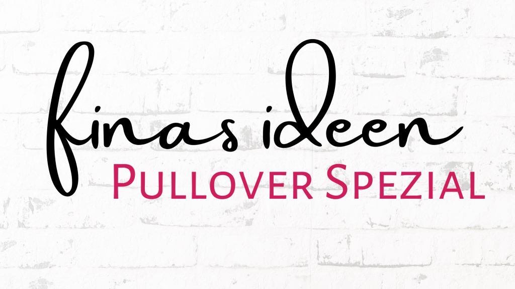 Pullover Spezial Schnittmuster