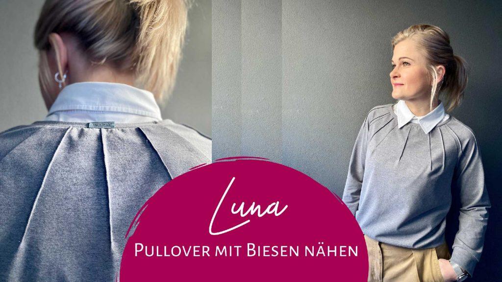 Schnittmuster Pullover Luna