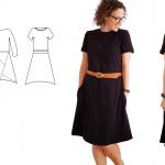 Schnittmuster Kleid Louisa